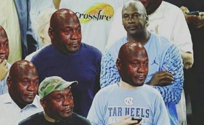 Michael Jordan a pris cher après la défaite de North Carolina
