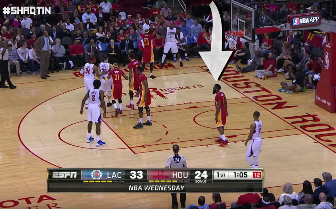 Le Shaqtin A fool de la saison : Du grand James Harden