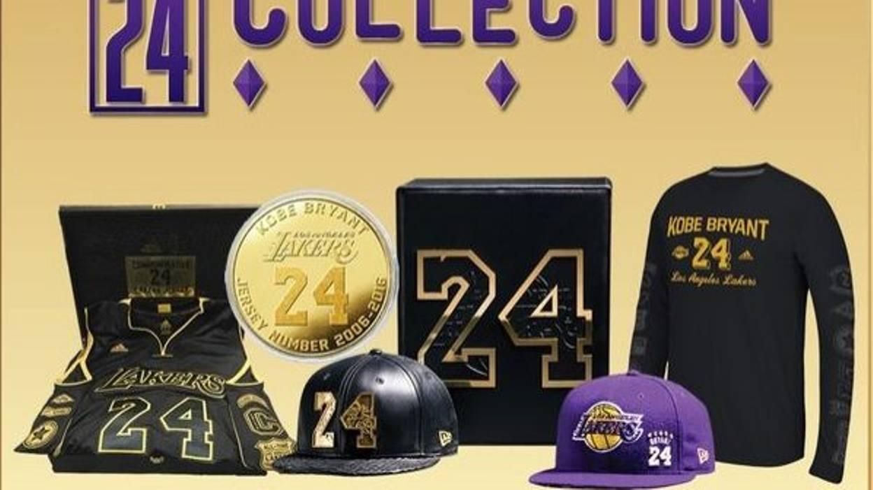 Diamants et peau de serpent, les casquettes hors de prix de Kobe Bryant
