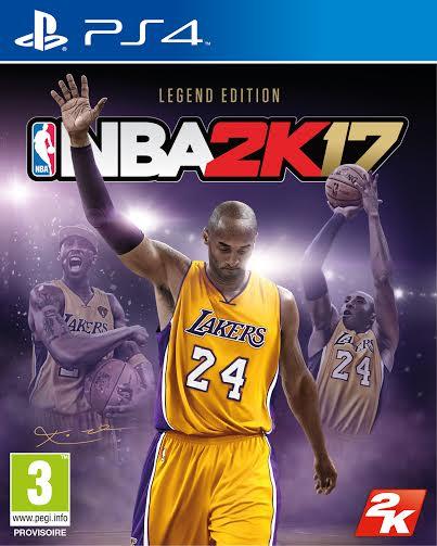 NBA2K17 : Une édition en hommage à la légende de Kobe Bryant