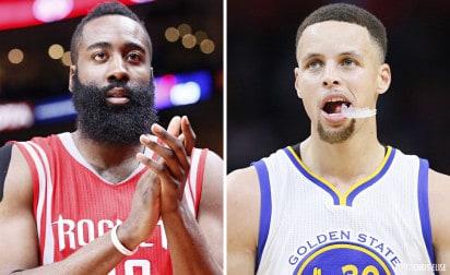 Le calendrier du choc entre les Warriors et les Rockets