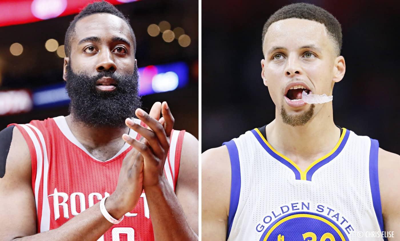 Kendrick Perkins le clame haut et fort : James Harden est un meilleur joueur que Stephen Curry !