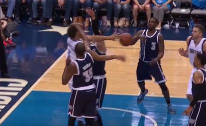 Kevin Durant éjecté pour un mauvais geste sur Justin Anderson