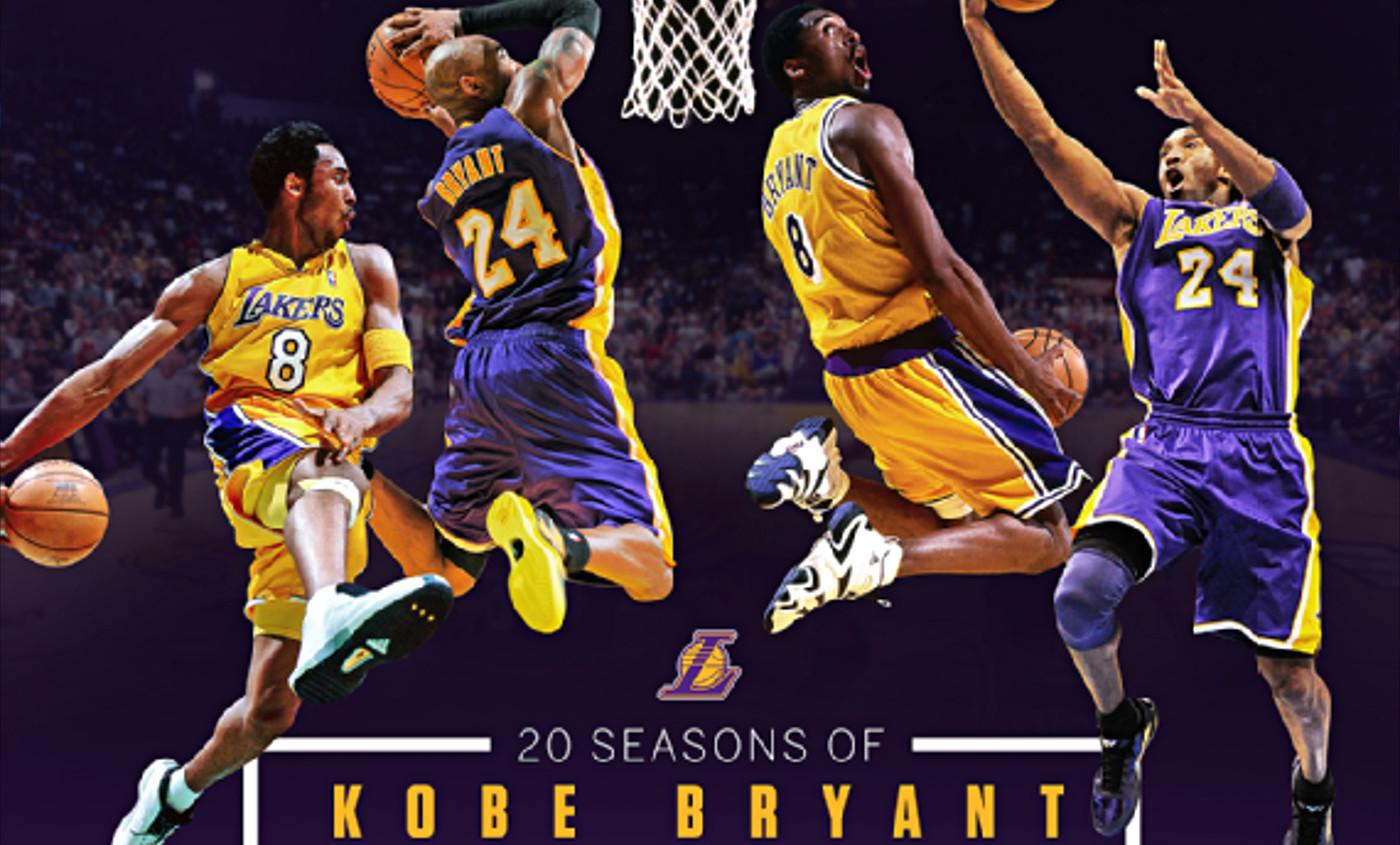 La carrière de Kobe Bryant résumée en une seule image