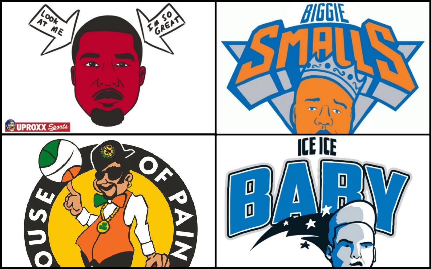 Les logos NBA remasterisés à la sauce hip-hop