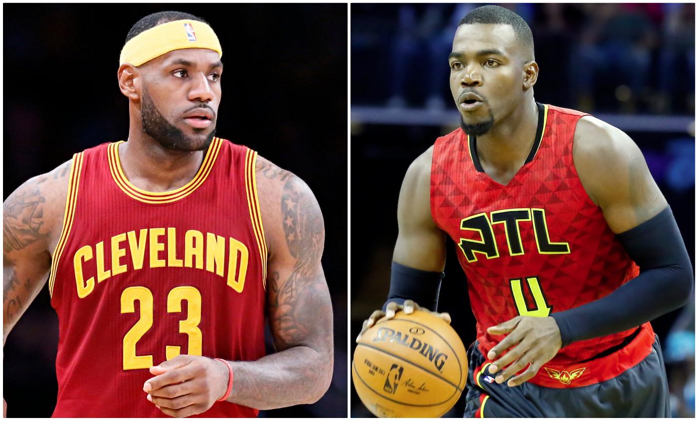 LeBron James et les Hawks, comme on se retrouve...