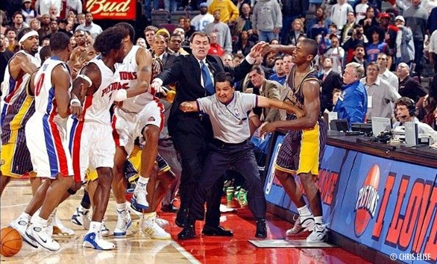 Good Old Dayz: la bouillante intro du Palace Auburn Hills lors des Finals 2004
