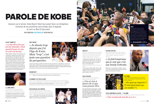 R57- KOBE Bryant PAROLES-42-45-1