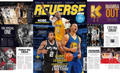Curry, Kawhi et Kobe sont tous dans le nouveau REVERSE !