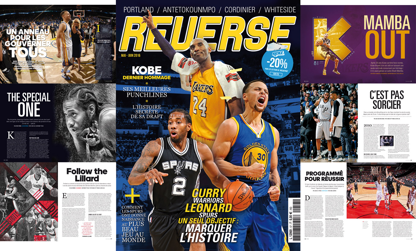 REVERSE n°57 : Kobe, les Warriors et les Spurs marquent l'histoire !