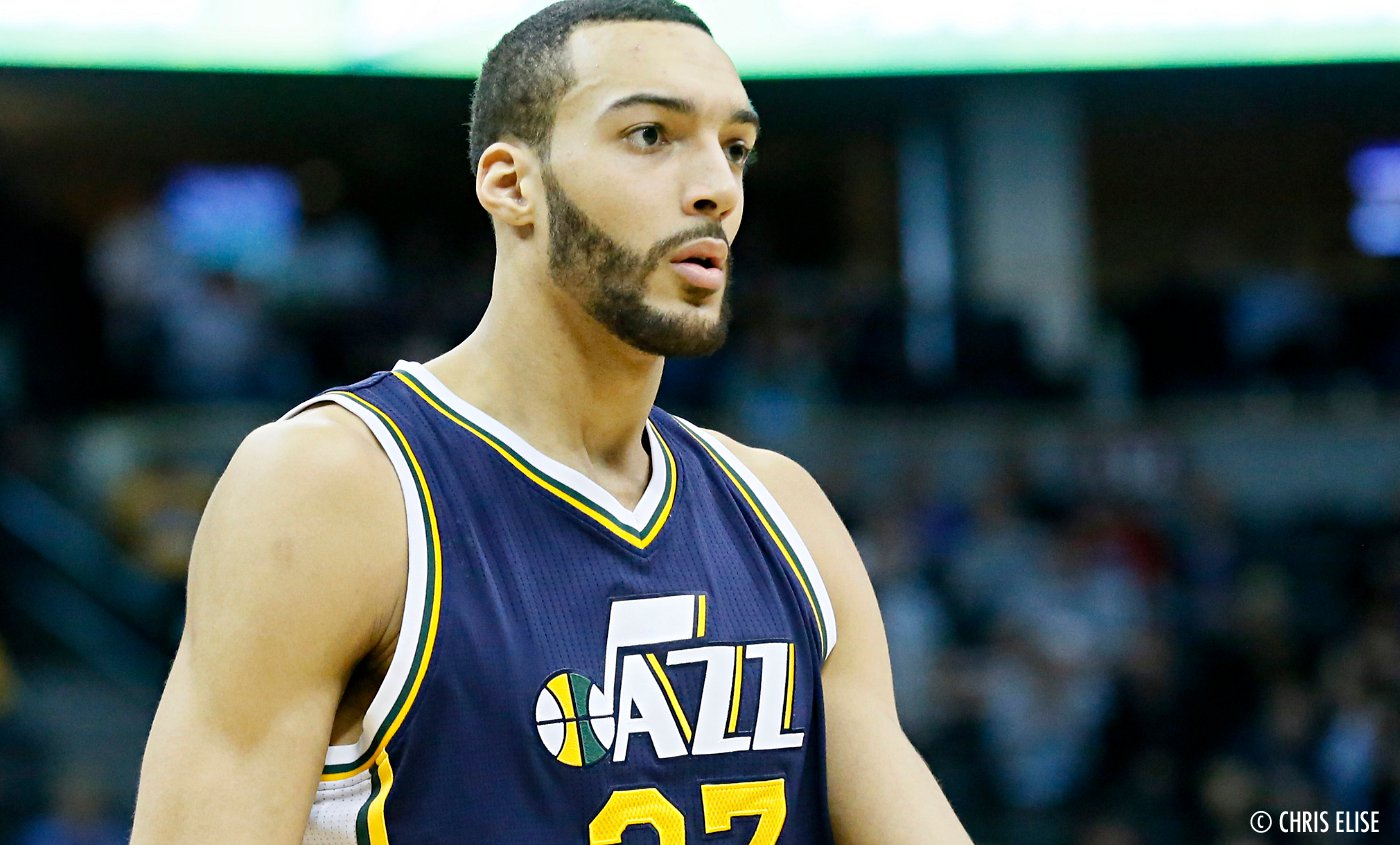 Rudy Gobert on fire pour taper les Suns