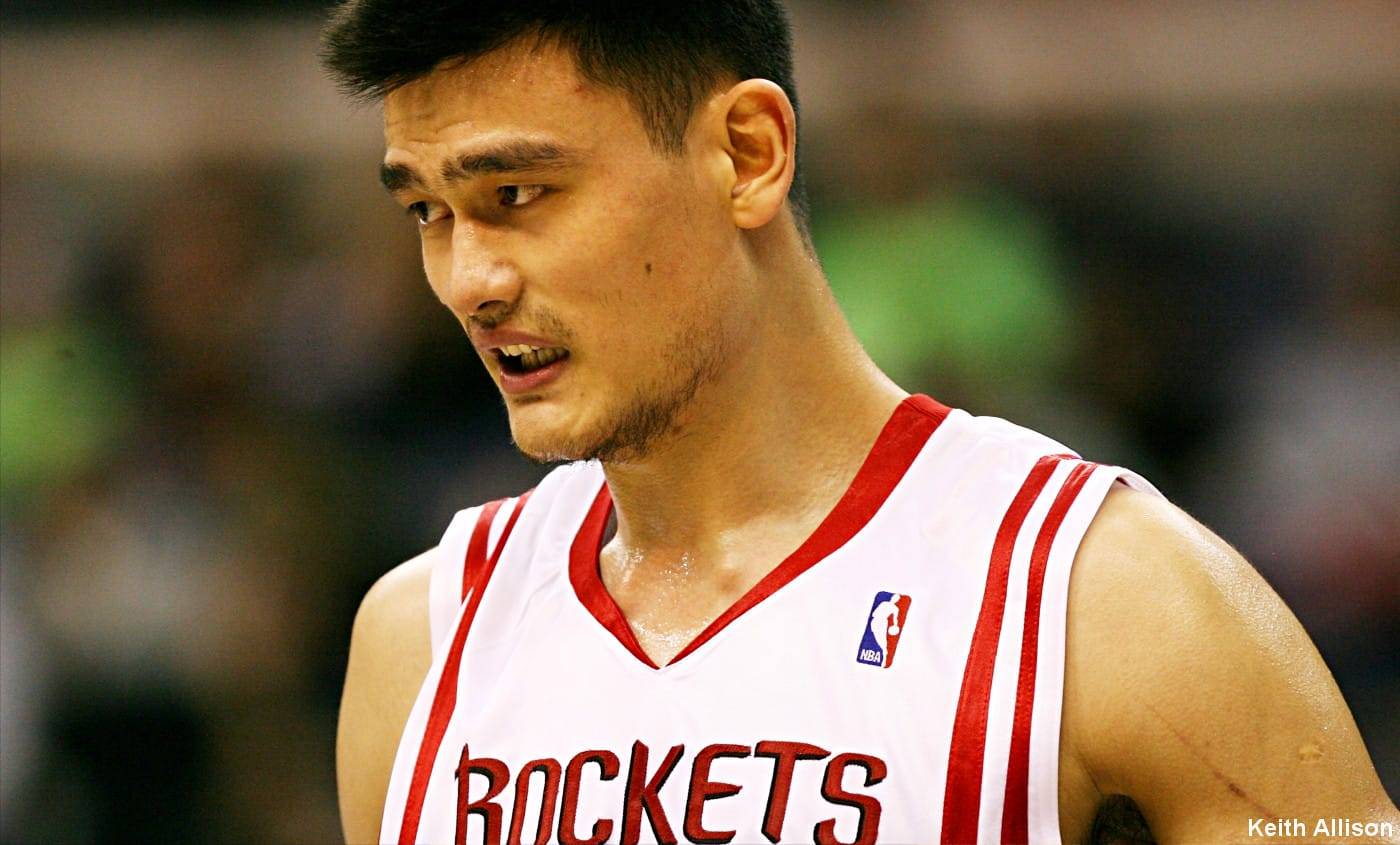 Team USA : 1 million pour dunker sur Yao Ming en 2000