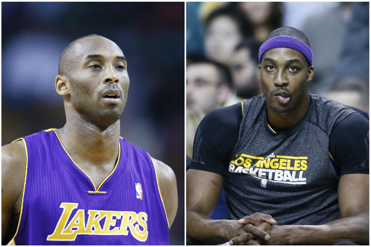 Kobe savait depuis le début que ça ne marcherait pas avec Dwight Howard