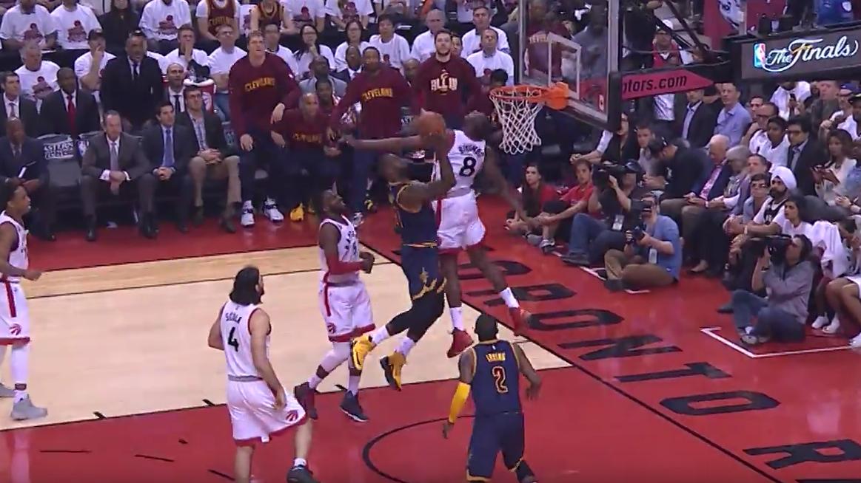 Top 5 : LeBron James ne touche plus terre