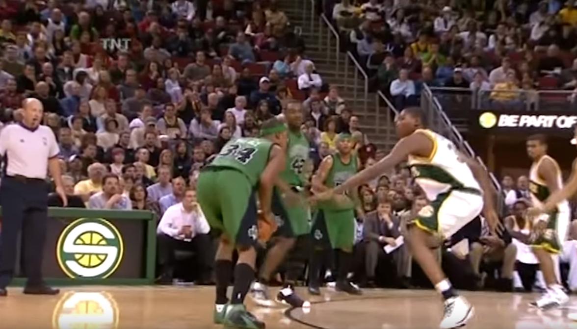 Quand le rookie Kevin Durant défiait un Paul Pierce en feu