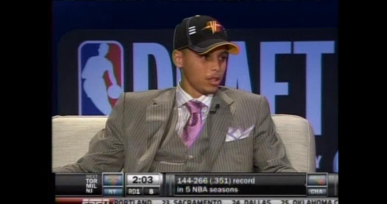La Draft de Stephen Curry, ce moment qui a changé l'histoire