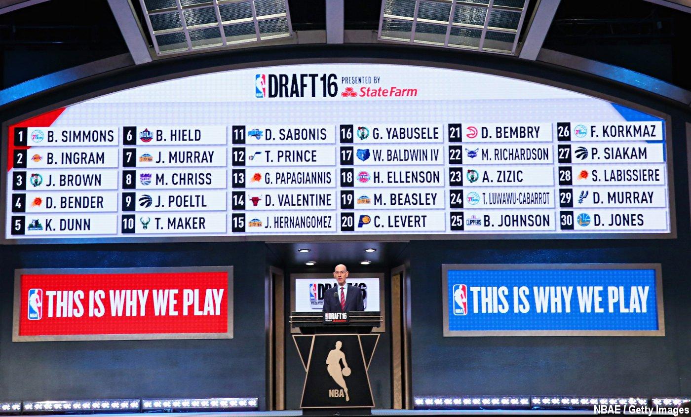 NBA Draft 2016 : Les gagnants et les perdants de la soirée