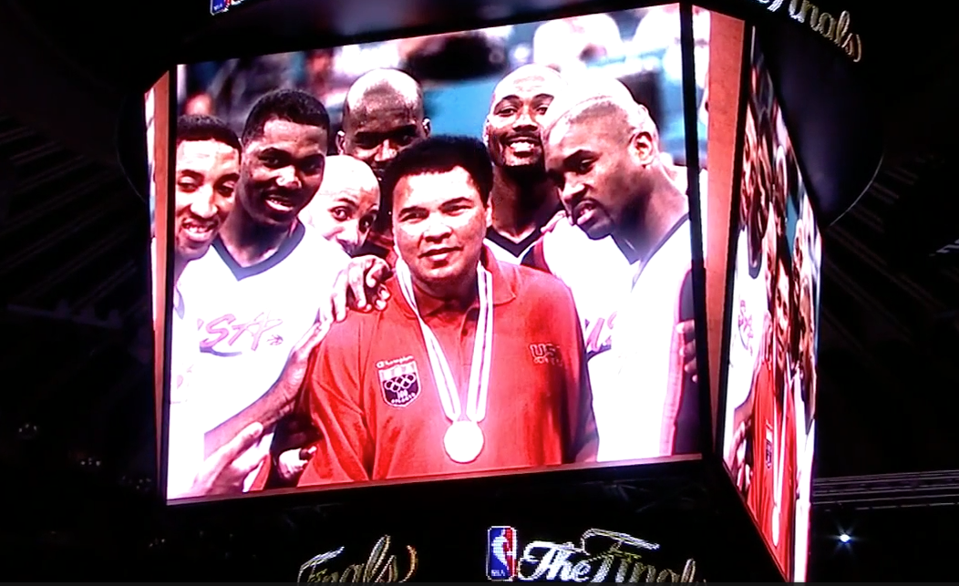L'hommage de la NBA à Muhammad Ali