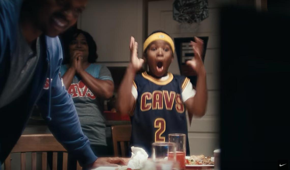 La nouvelle vidéo Nike en l'honneur du titre de Cleveland