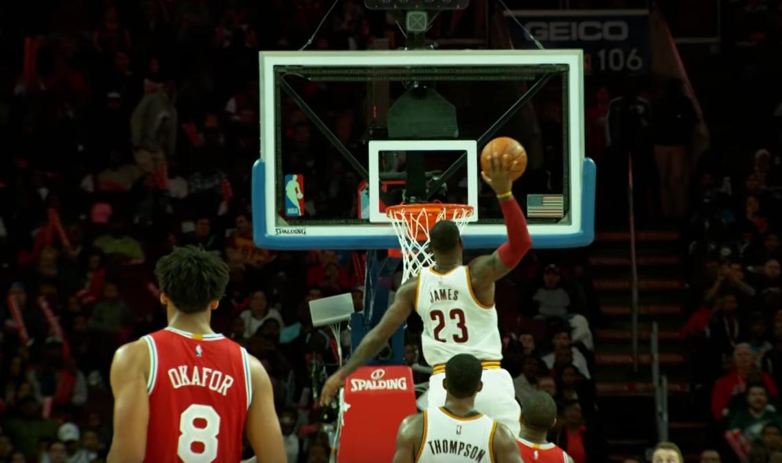 Top 10 : Le meilleur de LeBron James cette saison