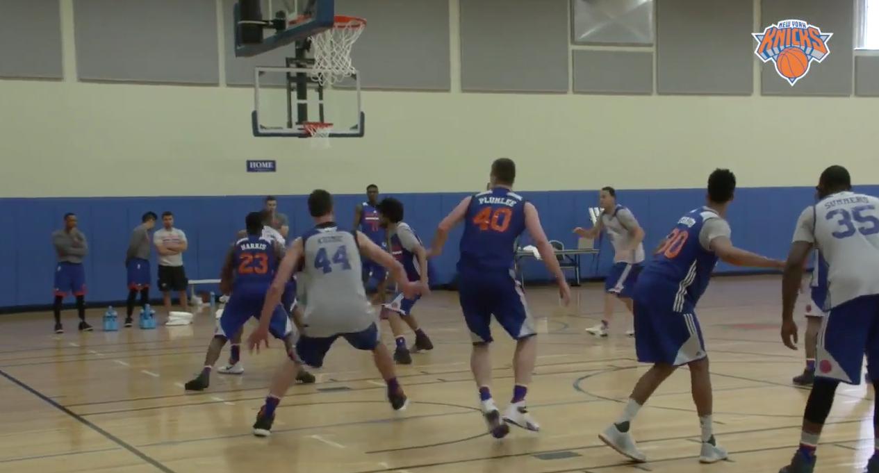Les Knicks et Jeff Hornacek déjà au boulot