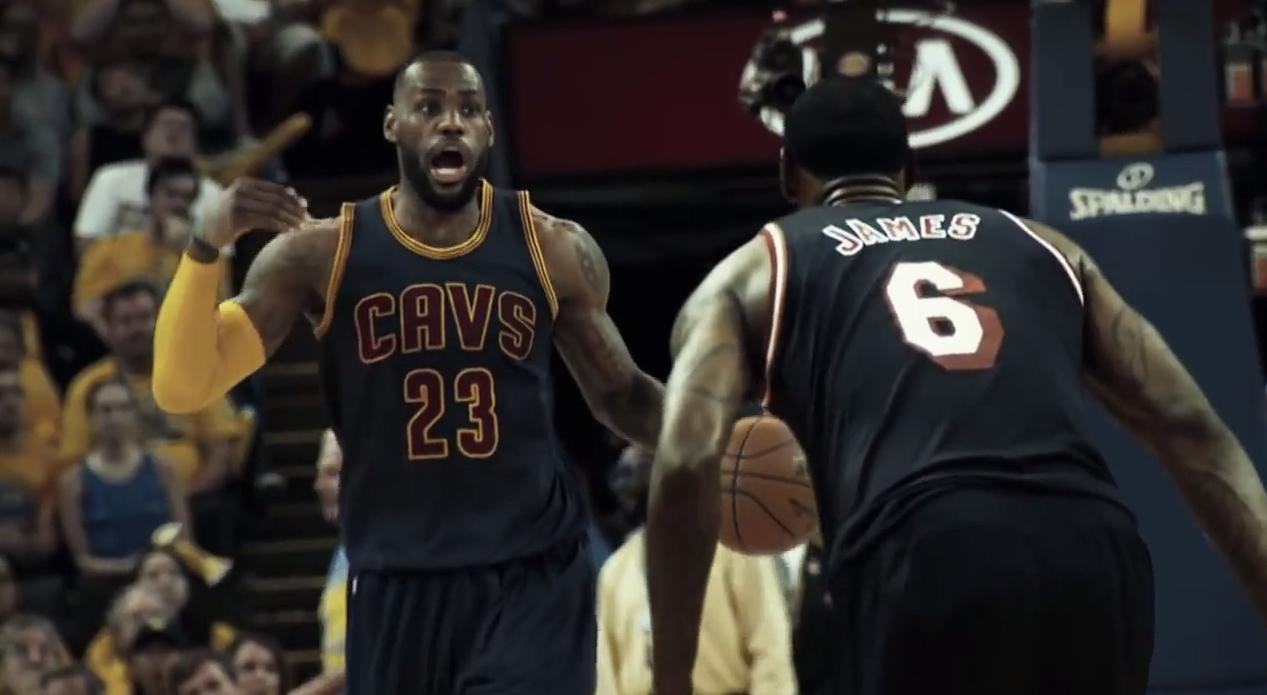 Mix : LeBron James vs... LeBron James
