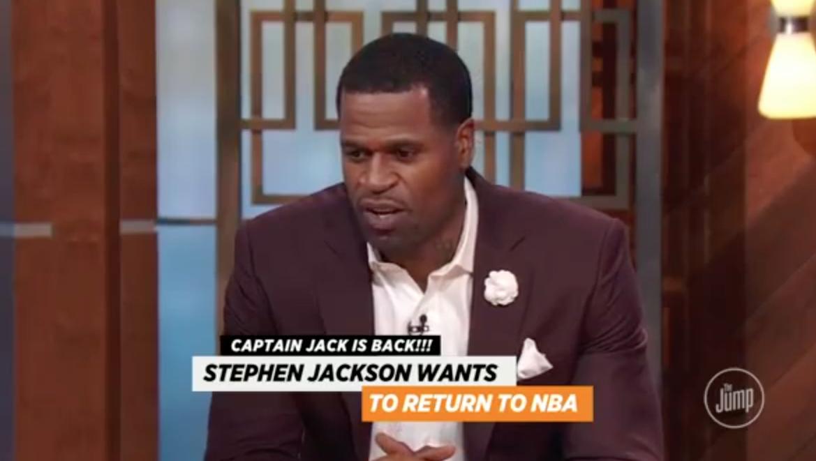 Stephen Jackson est prêt à revenir en NBA