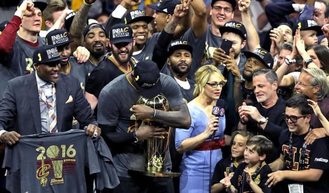 Les Cleveland Cavaliers sont champions NBA !