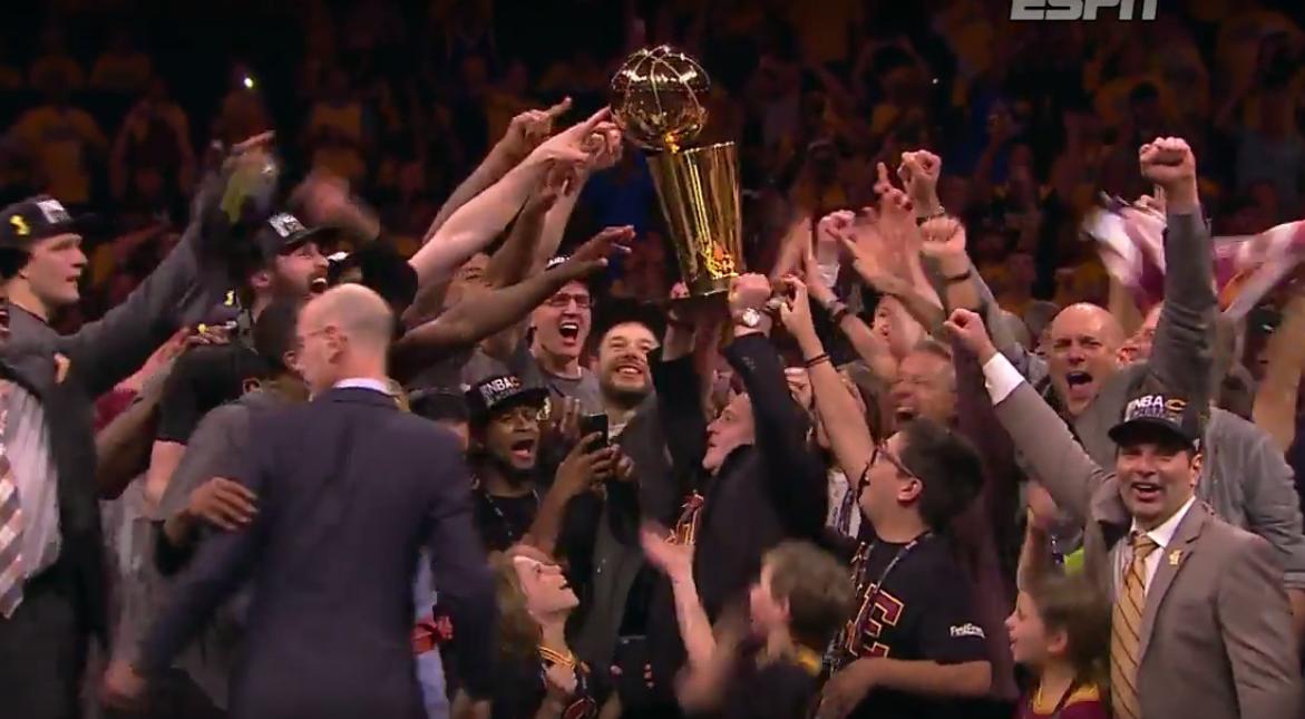 Les réactions de la NBA au titre des Cavs