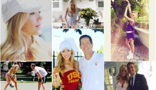 Abby Hornacek, la superbe fille du nouveau coach des Knicks