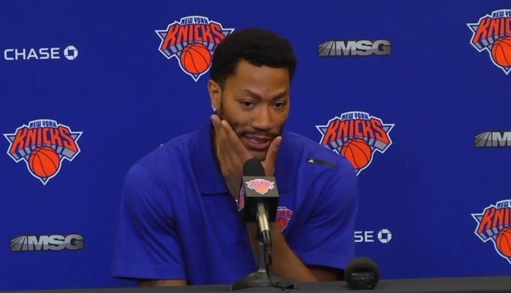Derrick Rose ne sait pas encore comment joueront les Knicks
