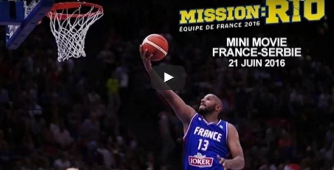 Mission Rio : Le Mini-movie de France-Serbie
