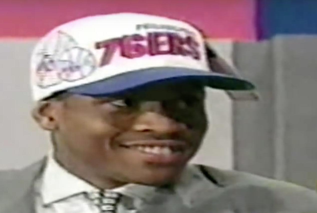 Il y a 20 ans, les Sixers choisissaient Allen Iverson avec leur 1er pick