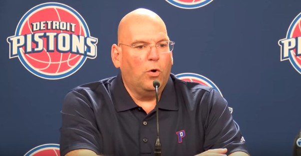 Les Detroit Pistons vont prolonger leur GM