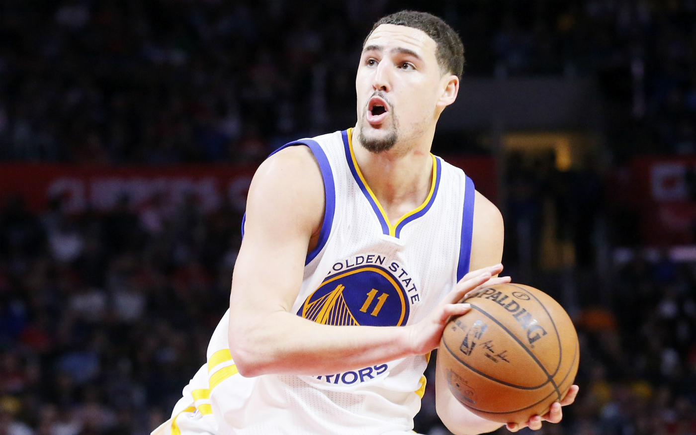 "Steve Kerr : ""On ne va pas transférer Klay Thompson à Boston"""
