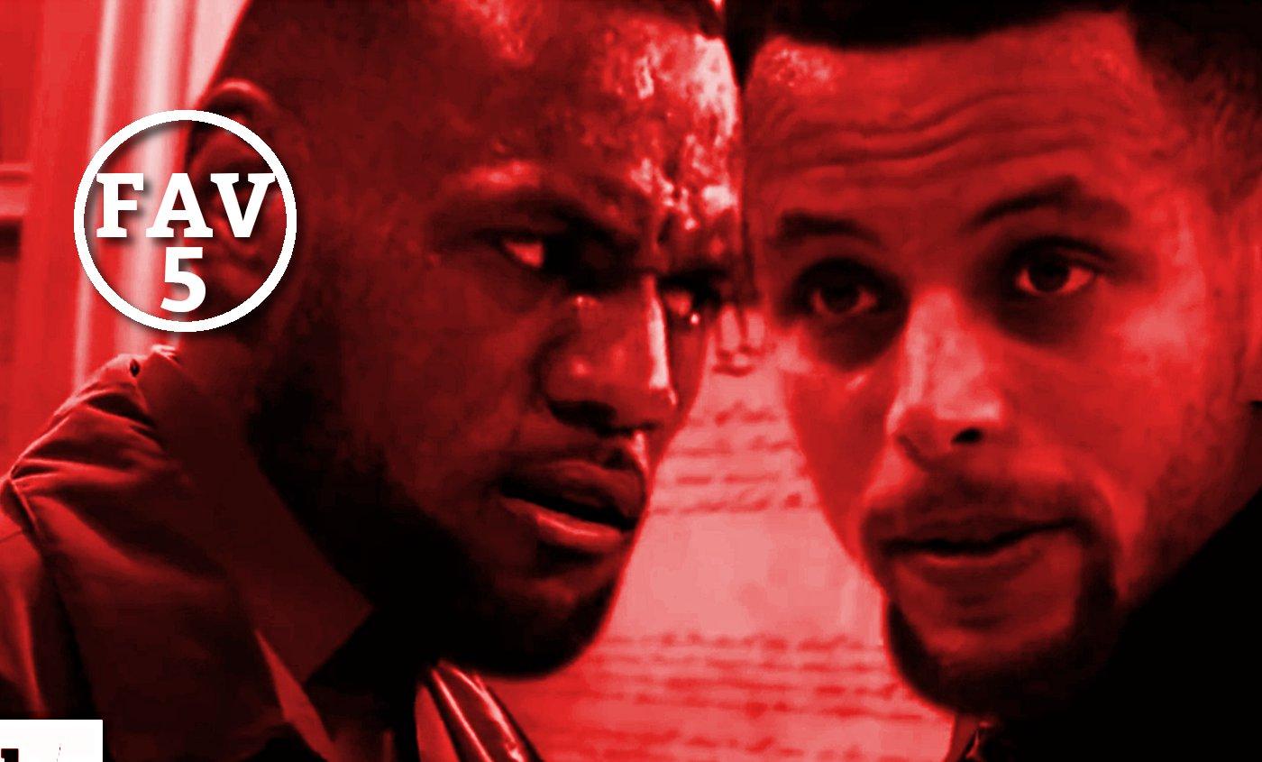 Fav 5 : Le dunk le plus fou du jour, LeBron à la Heisenberg, Sheed est intouchable