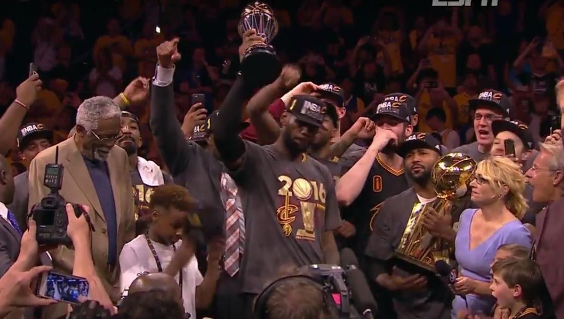 Happy Birthday LeBron James ! Ses plus belles actions lors des finales 2016