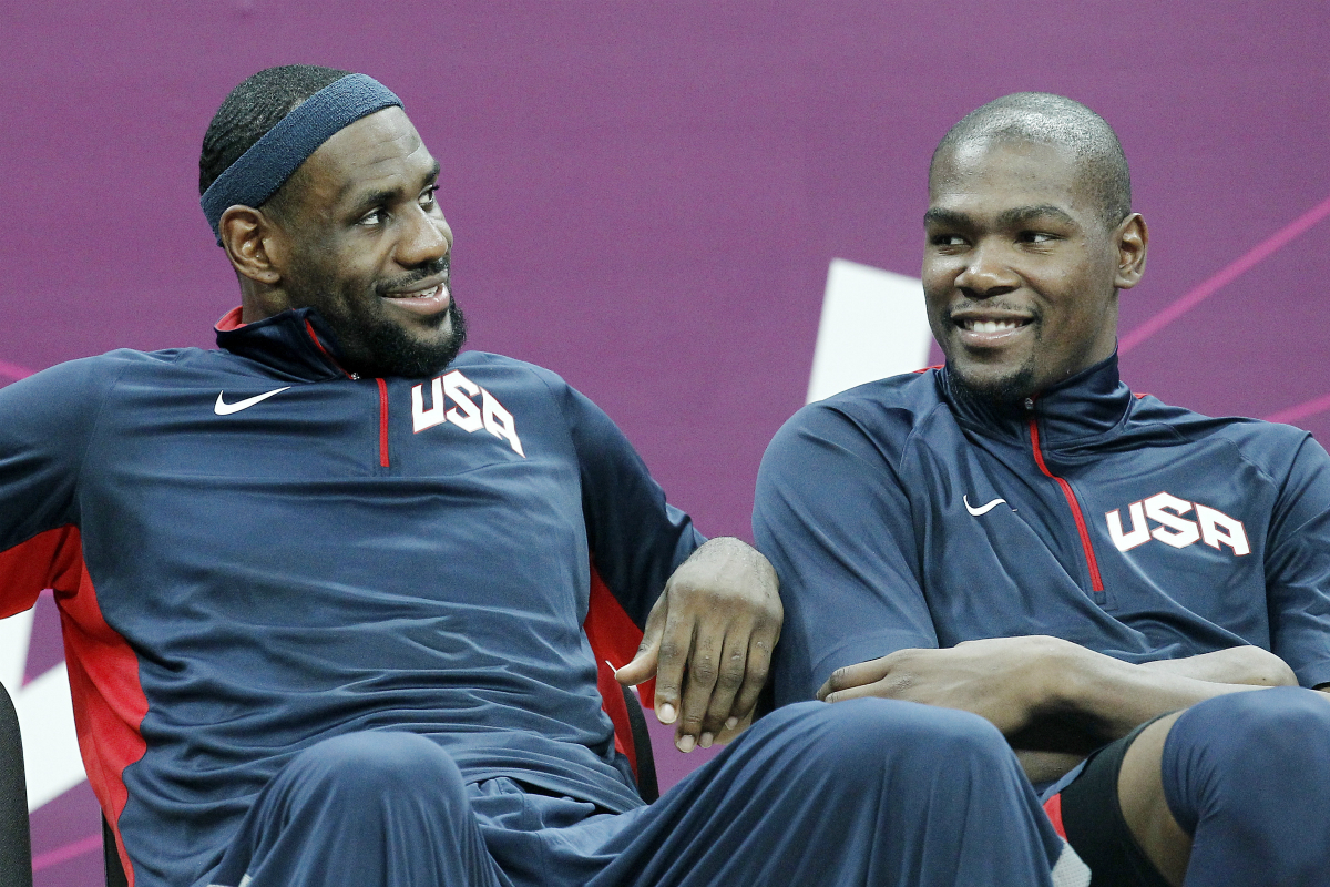 LeBron James et Kevin Durant dans les 10 sportifs les plus connus du monde