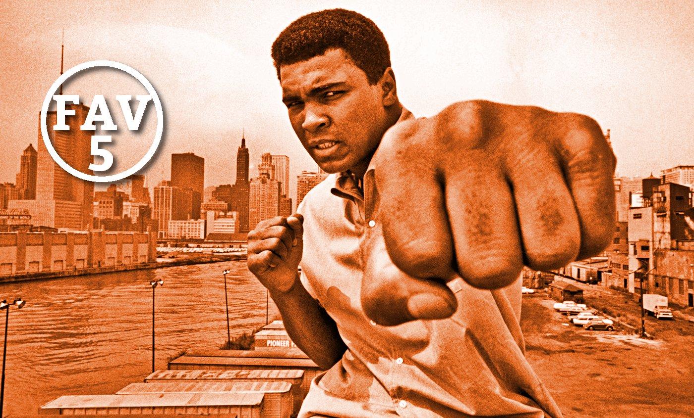 Fav 5 : La NBA honore Mohammed Ali, Festus la joue comme Curry