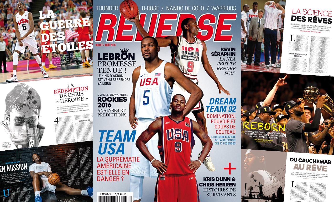 REVERSE 58 : LeBron champion, Team USA à la reconquête de la planète basket