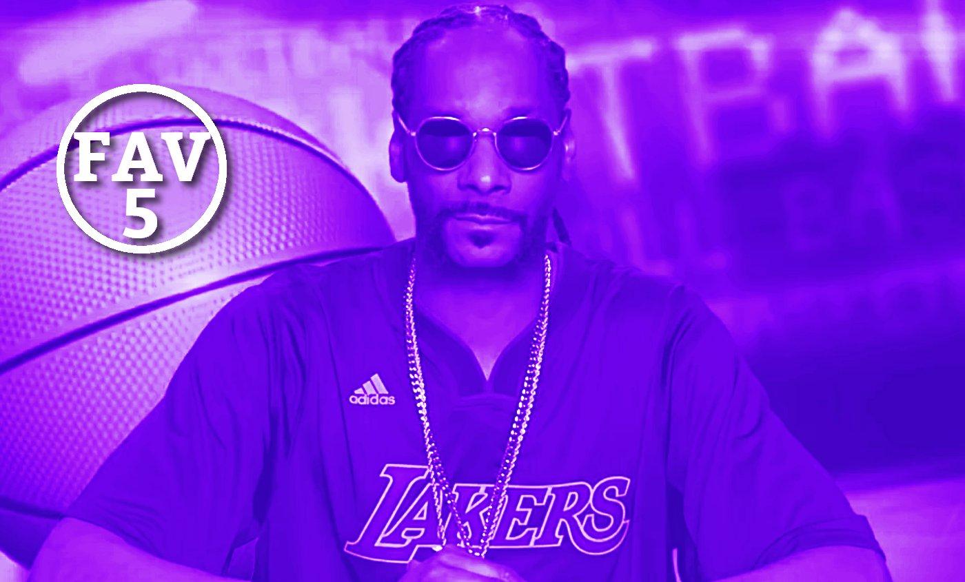 Fav 5 : Draymond ne la ferme jamais, Snoop et Hillary Clinton donnent leur version du basket
