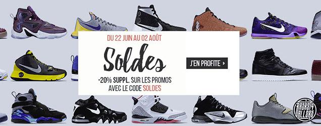 newest collection 24552 62404 ... (du 22 juin au 02 août), notre partenaire Basket4Ballers vous offre 20%  de remise supplémentaires sur tous les articles en promo avec le code SOLDES .