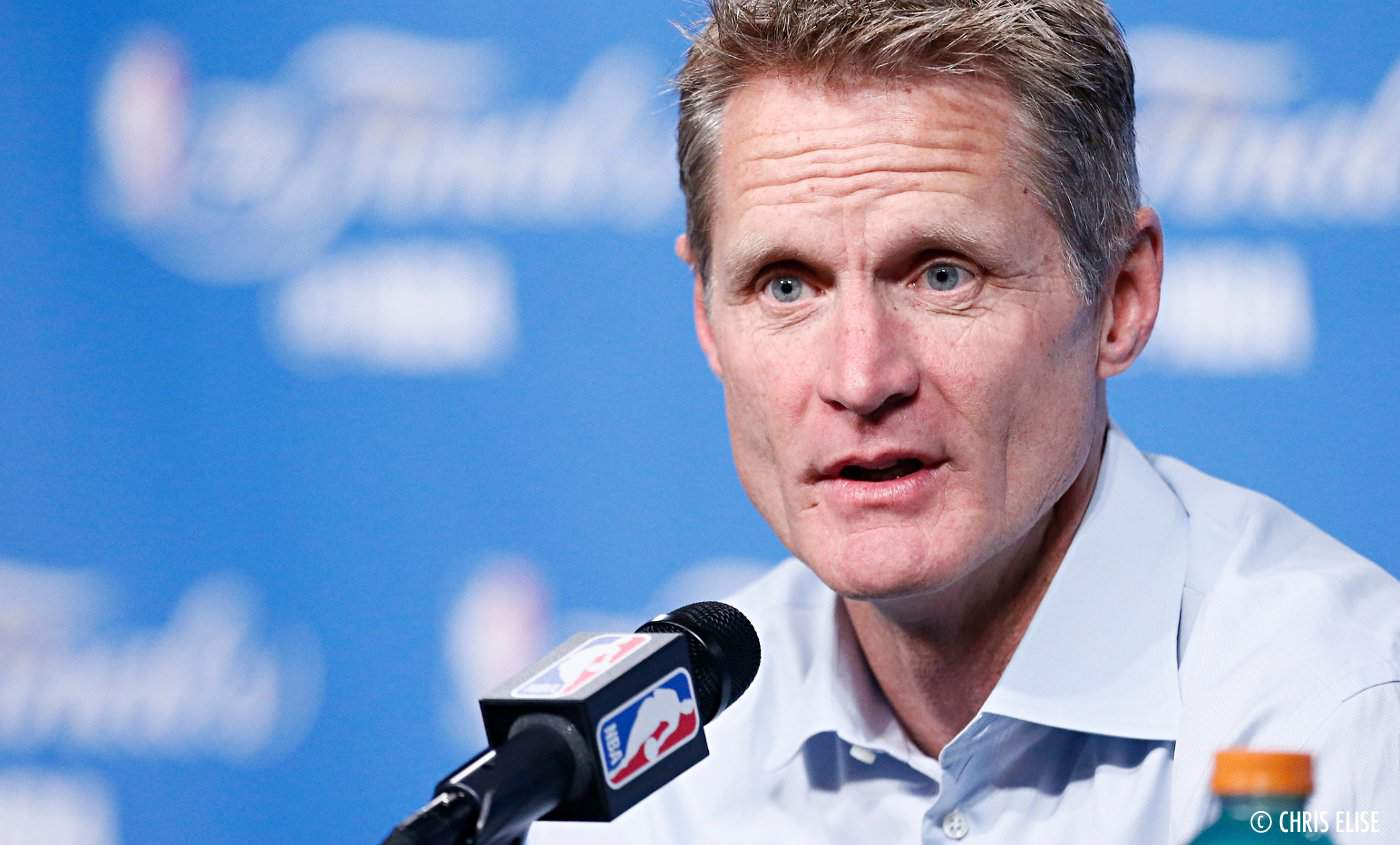 Steve Kerr sur la déroute des Warriors : «On a arrêté de jouer»