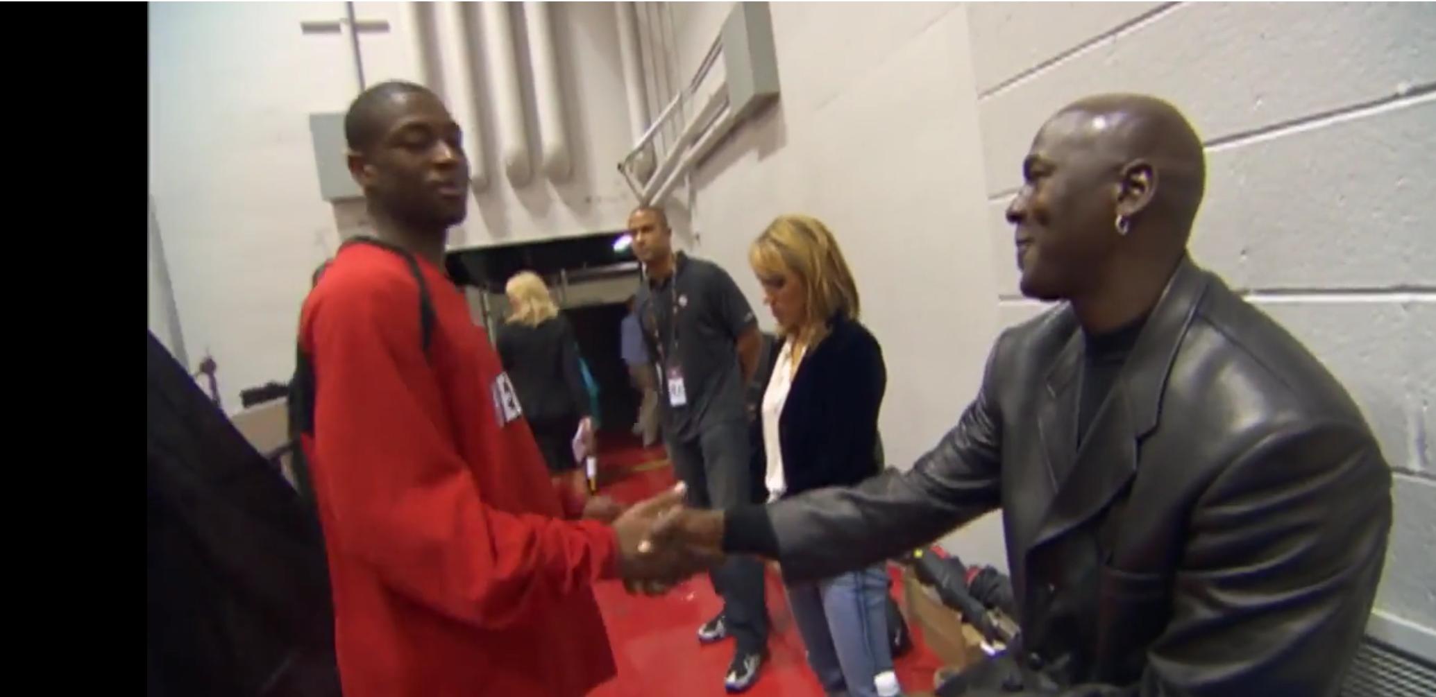 Dwyane Wade et l'influence de Michael Jordan
