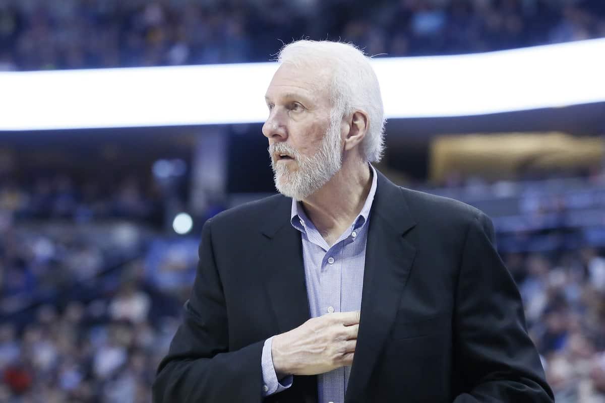 Gregg Popovich négocie un nouveau contrat avec les Spurs