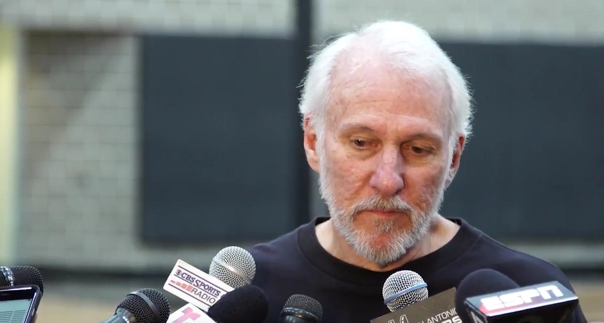 Gregg Popovich met un stop à un journaliste sur Kaerpernick