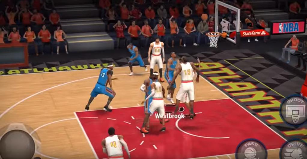 NBA Live Mobile, la nouvelle appli pour les gamers mordus de NBA