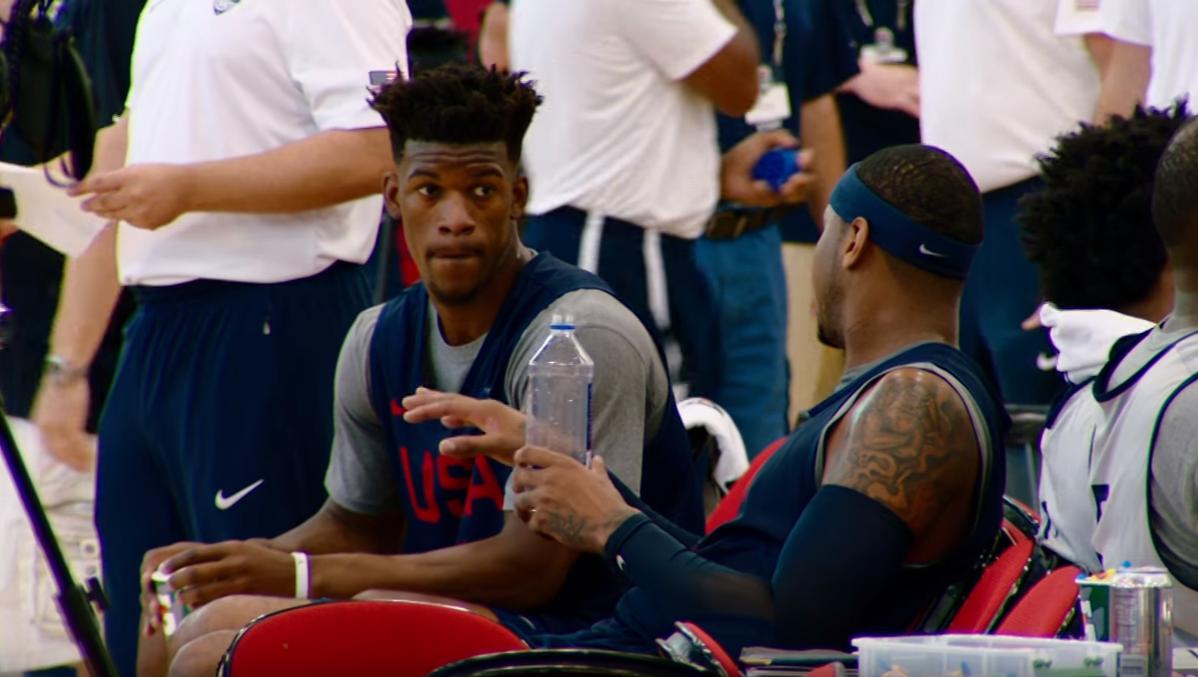 Team USA est toujours en galère avec les ballons FIBA…