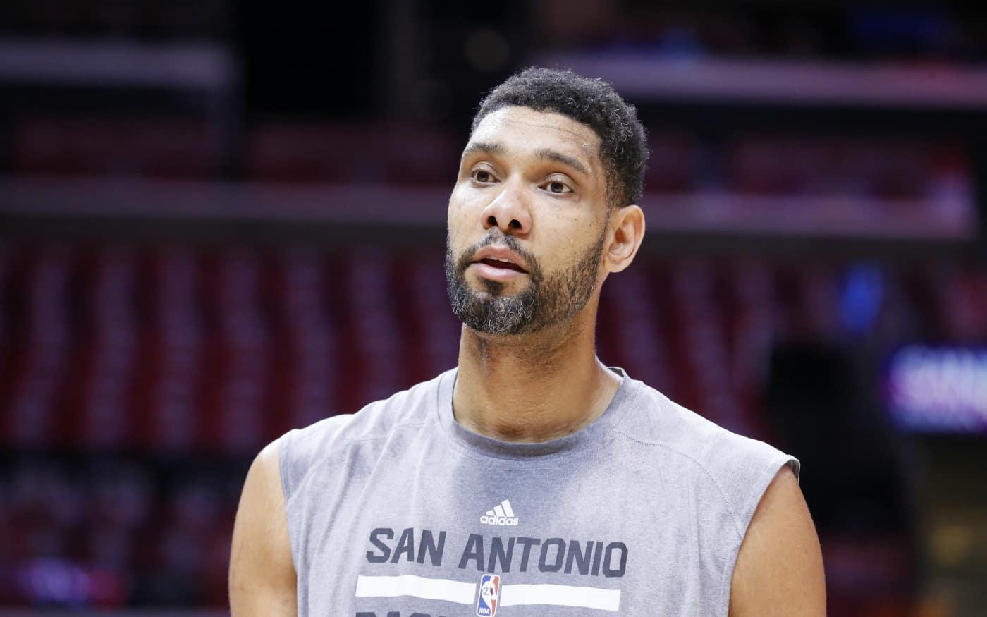 Tim Duncan déjà de retour à l'entraînement avec les Spurs