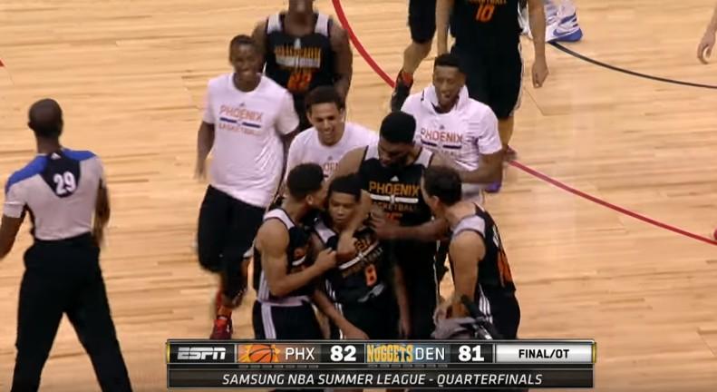 Clutch : Tyler Ulis qualifie les Suns sur un superbe buzzer beater